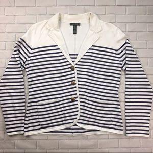 Ralph Lauren Cardigan Sweater Sz L Green Label
